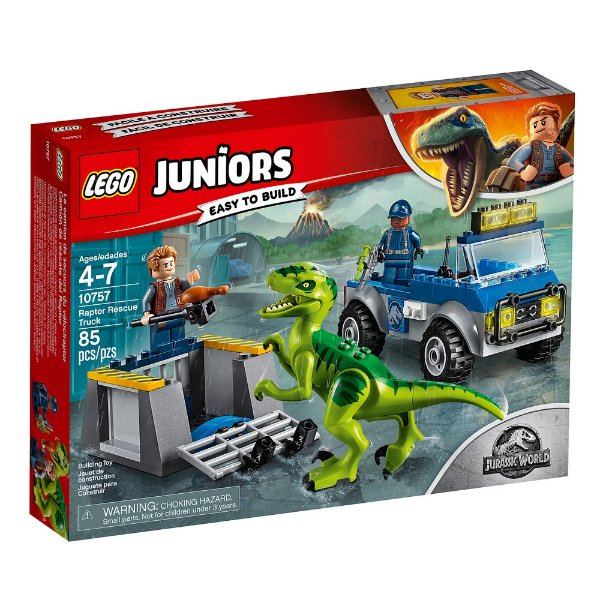 LEGO Juniors - Caminhão de Resgate de Raptor 10757