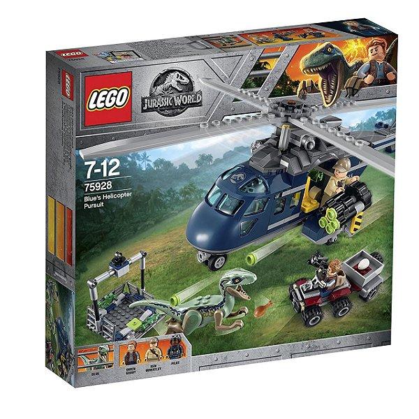 LEGO Jurassic World - A Perseguição de Helicóptero 75928