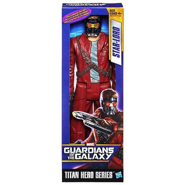 Boneco Titan Hero Guardians of Galaxy: Star Lord 30cm