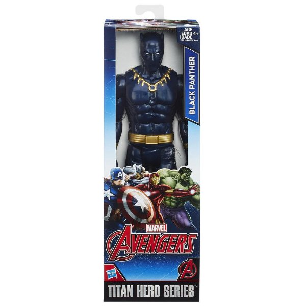 Boneco Marvel Titan Hero Series Black Panther 30 cm