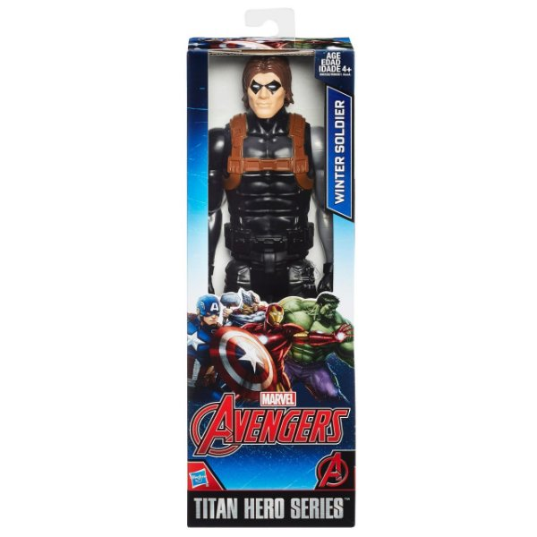 Boneco Marvel Titan Hero Series Winter Soldier 30 cm