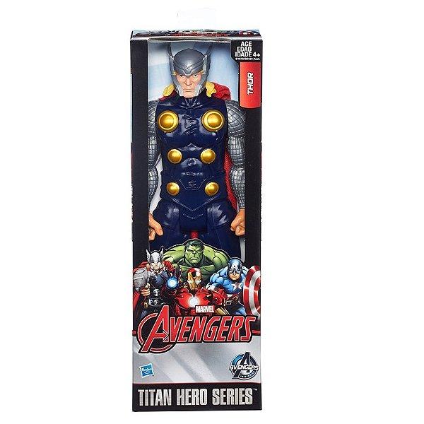 Boneco Titan Hero Avengers Thor 30 cm