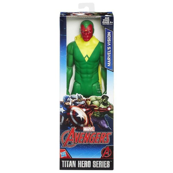 Boneco Marvel Titan Hero Series Vision 30 cm
