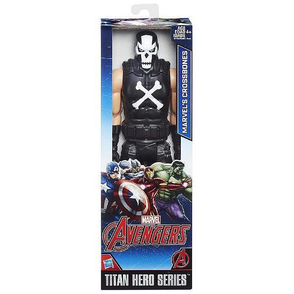 Boneco Marvel Titan Hero Series Crossbones 30 cm