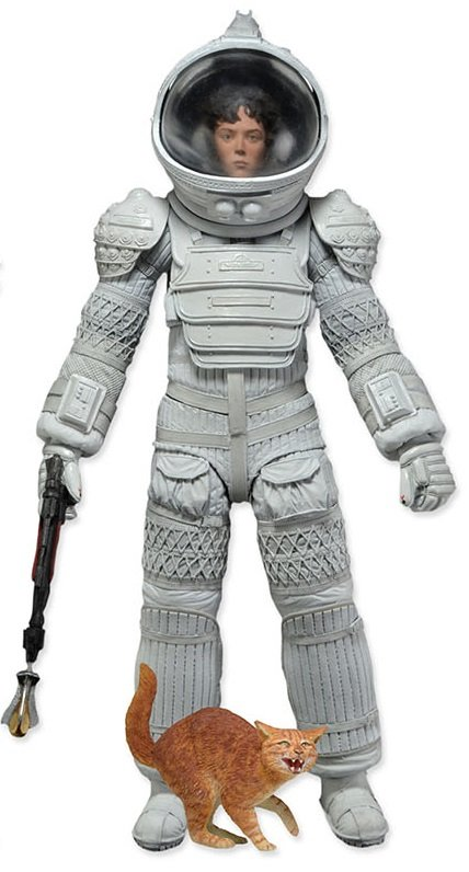 Aliens - Ripley White Nostromo Spacesuit Version