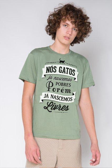 Camiseta A História dos Gatos