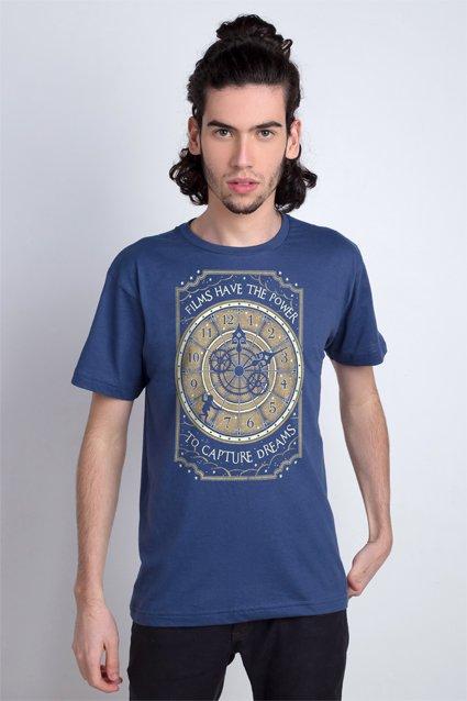 Camiseta A invenção de Hugo Cabret (G)