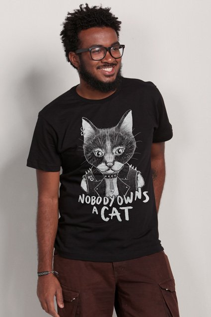 Camiseta Punk Cat