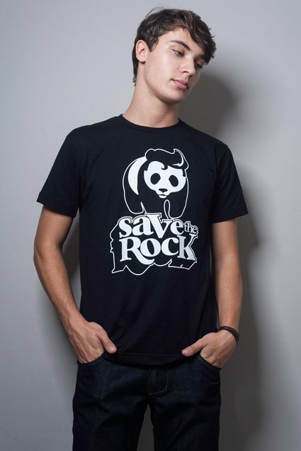 Camiseta Save The Rock