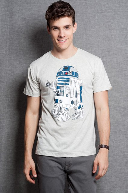 Camiseta Star Wars Coffee Machine