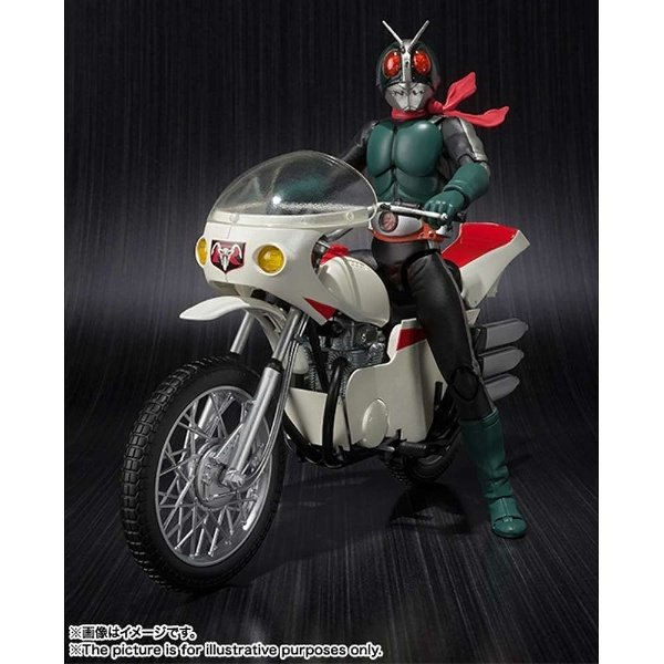 S.H.Figuarts Kamen Rider - Masked Rider Old v2 e Cyclone Remodeling