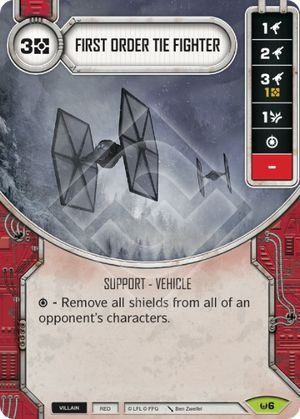 SW Destiny - First Order TIE Fighter