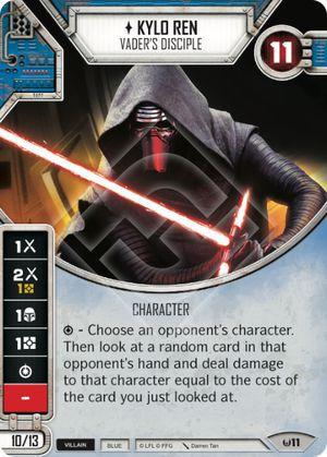 SW Destiny - Kylo Ren Vader's Disciple