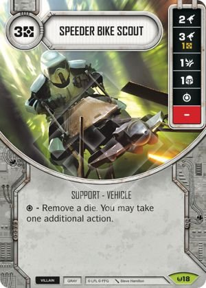 SW Destiny - Speeder Bike Scout