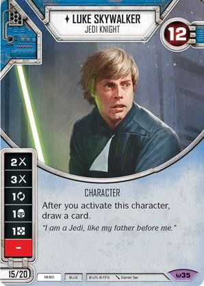 SW Destiny - Luke Skywalker Jedi Knight