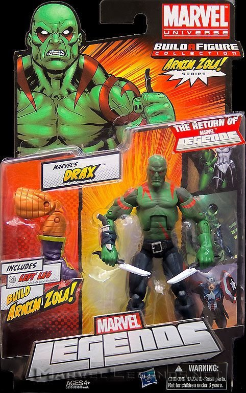 Hasbro Marvel Legends Arnin Zola Baf - Drax