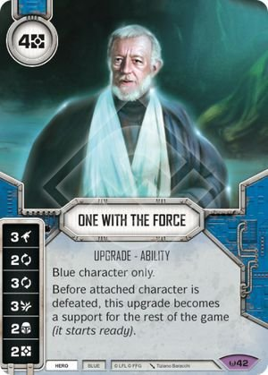 SW Destiny - One With The Force