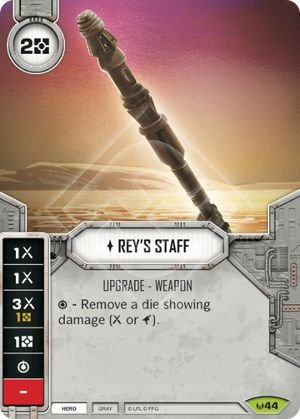 SW Destiny - Rey's Staff