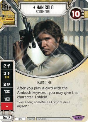 SW Destiny - Han Solo Scoundrel