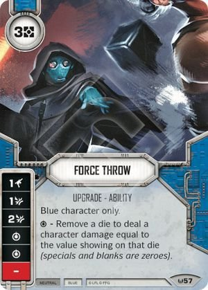 SW Destiny - Force Throw