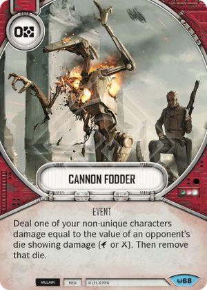 SW Destiny - Cannon Fodder
