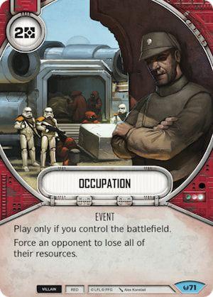 SW Destiny - Occupation