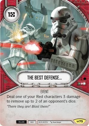 SW Destiny - The Best Defense...