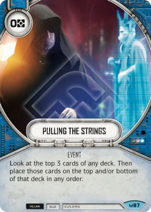SW Destiny - Pulling the Strings
