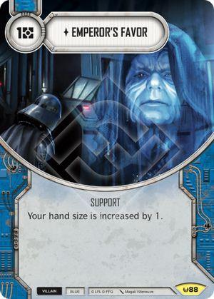 SW Destiny - Emperor's Favor