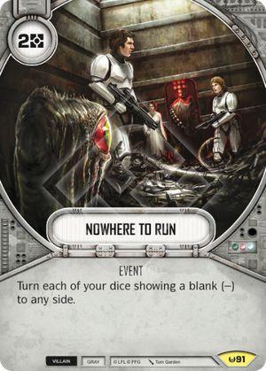 SW Destiny - Nowhere to Run