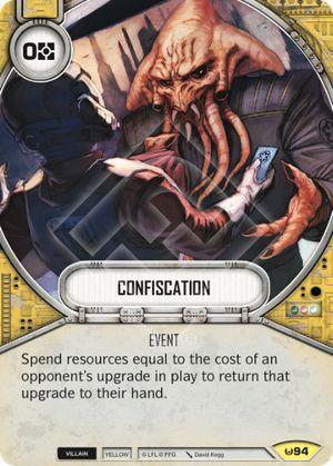 SW Destiny - Confiscation