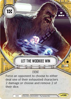 SW Destiny - Let The Wookiee Win