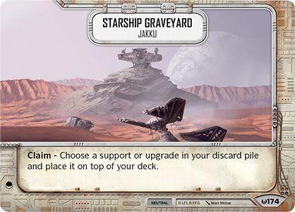 SW Destiny - Starship Graveyard Jakku