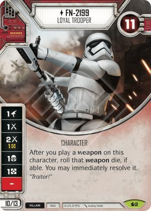 SW Destiny - FN-2199 Loyal Trooper