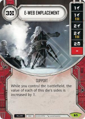 SW Destiny - E-Web Emplacement
