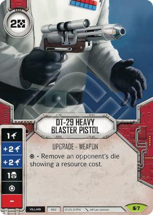 SW Destiny - DT-29 Heavy Blaster Pistol