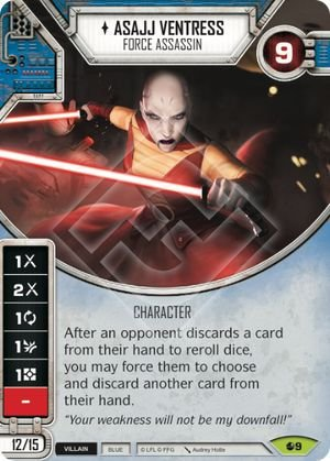 SW Destiny - Asajj Ventress Force Assassin