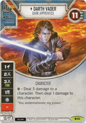 SW Destiny - Darth Vader Dark Apprentice