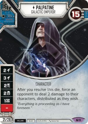 SW Destiny - Palpatine Galactic Emperor