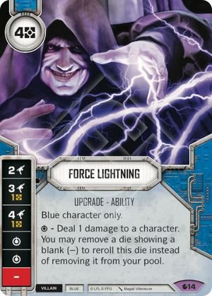 SW Destiny - Force Lightning