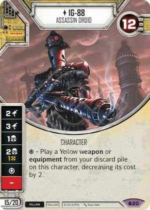 SW Destiny - IG-88 Assassin Droid