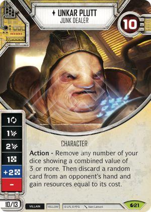 SW Destiny - Unkar Plutt Junk Dealer