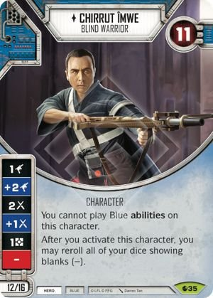 SW Destiny - Chirrut Îmwe Blind Warrior