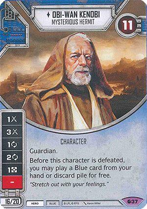 SW Destiny - Obi-Wan Kenobi Mysterious Hermit