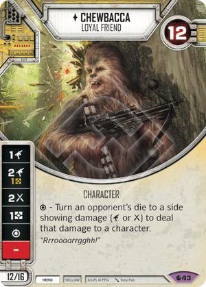 SW Destiny - Chewbacca Loyal Friend