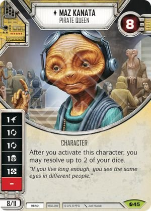 SW Destiny - Maz Kanata Pirate Queen