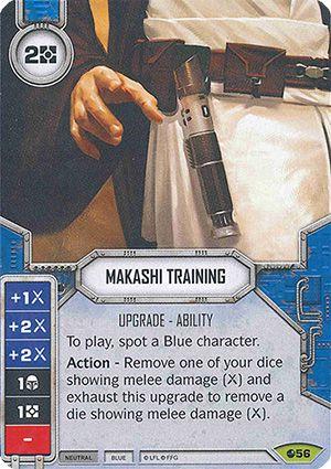SW Destiny - Makashi Training