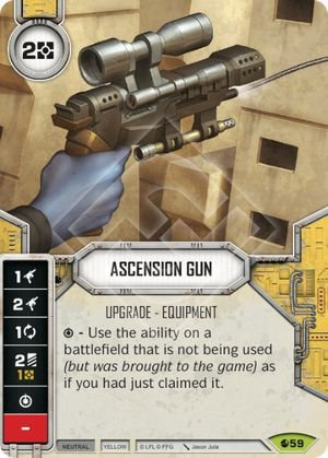 SW Destiny - Ascension Gun