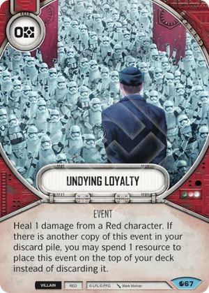 SW Destiny - Undying Loyalty