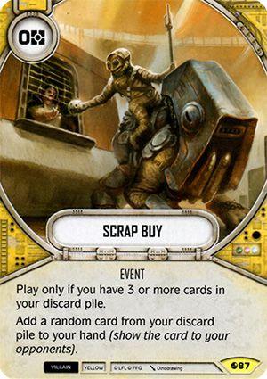 SW Destiny - Scrap Buy